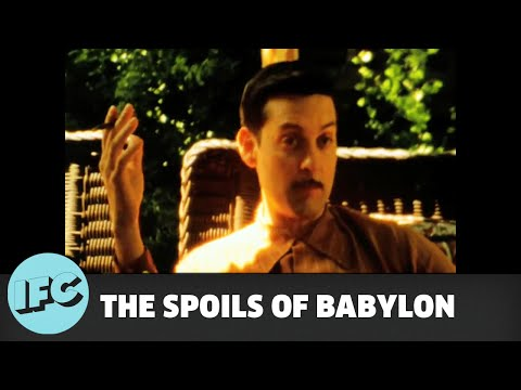 The Spoils of Babylon Behind the Scene 2