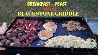 Breakfast Feast on the Blackstone Griddle