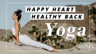 Yoga für Rücken, Brust & Wirbelsäule | Körper mobilisieren | 30 Minuten zum wach werden & loslassen!