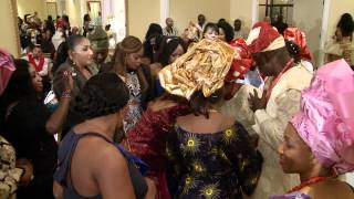 Grand Entrance With Traditional African Nigerian Wedding Outfits Videographer Photographer Toronto