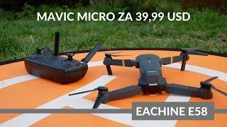 ????Mavic Micro za 39,99 USD, czyli Eachine E58 robi Flipy 360°????