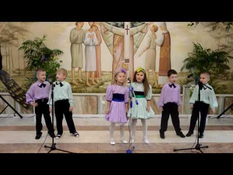 Детский вокальный ансамбль «Наследники» - Рождественская песня «Ангелы в небе»