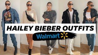 RECREATING HAILEY BIEBER'S OUTFITS AT WALMART! Julia Havens