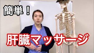 簡単にできる肝臓マッサージ法