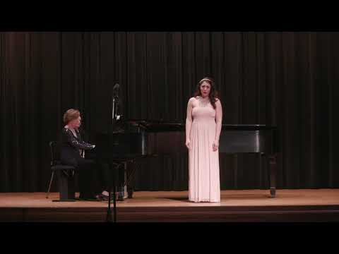 Excerpt from Spring 2018 Faculty Recital at Winthrop University