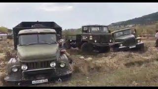 Кто круче Урал,ЗИЛ 131 или Газ 66/ ZIL131 URAL GAZ66