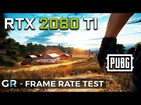 RTX 2080 TI PUBG | 2160p/1440p/Ultra Settings | Frame Rate Benchmark Test -  GameRate