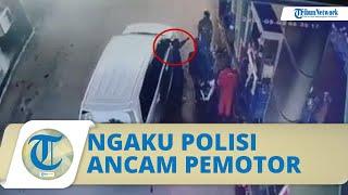 Kronologi Video Viral Sopir Ngaku Polisi Ancam Tembak Pemotor, Tim Cyber dan Propam Turun Tangan