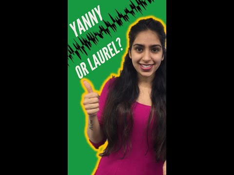 Yanny and Laurel are dividing the internet. What do you hear?