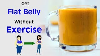 Turmeric Tea For Weight Loss Get Flat Belly Without Diet Exercise Belly Fat Burner