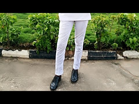 How to cut a male trouser/ sokoto/native trouser (part 1)