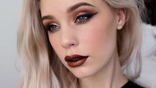 Autumn Makeup w/ Metallic Lips