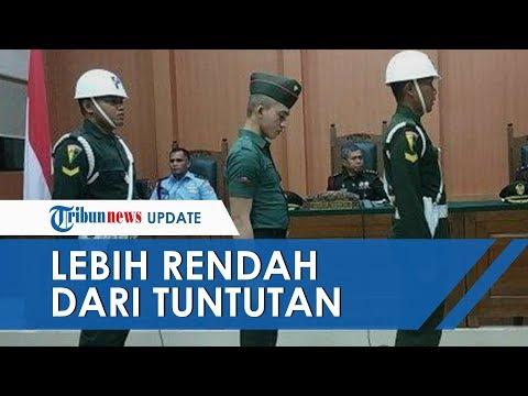 Prada DP terbukti Bersalah Lakukan Kasus Kejahatan Militer, Divonis 3 Bulan Penjara