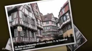 preview picture of video 'France and Switzerland Chronometers's photos around Neuchatel Switzerland and Colmar, France'