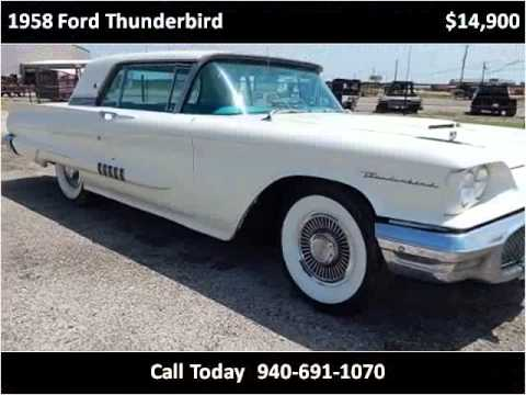 Video of Classic '58 Thunderbird Offered by Lone Star Muscle Cars - L8LD