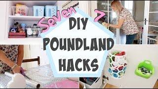 7 DIY Poundland Hacks For The Home!
