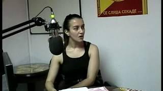 Sandra Trajkovska vo Radio Bravo
