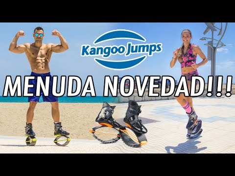 MENUDA NOVEDAD!! LAS KANGOO JUMPS!!  BOTAS PARA SALTAR!!