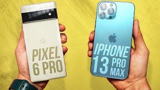 Google Pixel 6 Pro vs Apple iPhone 13 Pro Max - Ultimate Surprise!