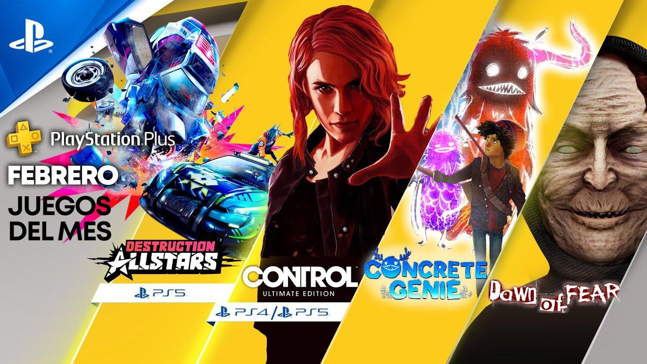 Destruction AllStars, Control: Ultimate Edition y Concrete Genie son tus juegos de PlayStation Plus para febrero