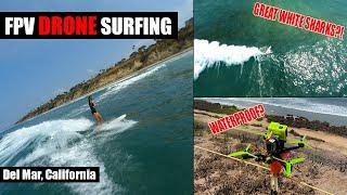 FPV Drone Surfing | Del Mar, CA