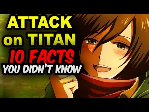 10 Attack on Titan Facts You Didn't Know!