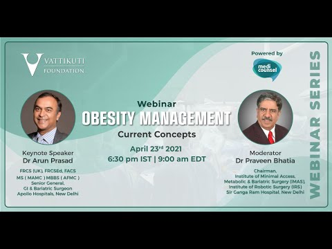 Obesity Management: Current Concepts