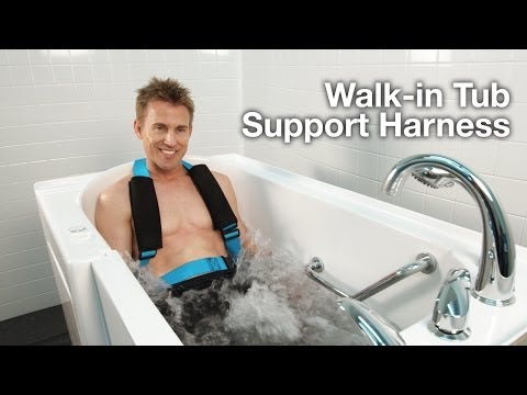 Walk-in Tub Support Harness for Bathing Safety - Bliss Tubs