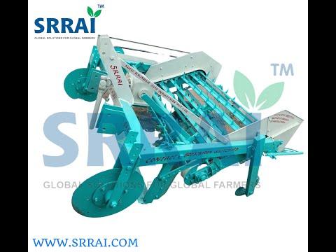 Groundnut Digger Cum Separator Machine