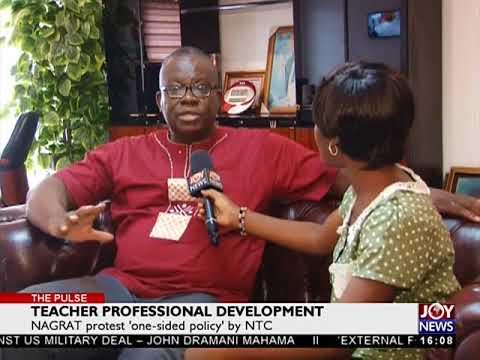 Teacher Professional Development - The Pulse on JoyNews (28-3-18)