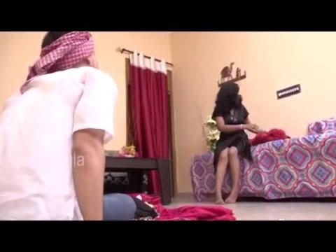 भाभी ने सब उतार दिया || Indian House Wife is sitting alone in Petticoat In Front Of Dhobi