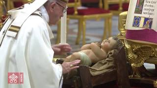 Pope Francis' Letter on the importance of the nativity scene