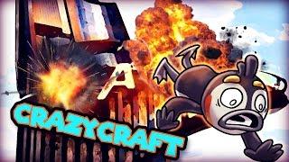Minecraft   Crazy Craft 3.0 - DISASTER STRIKES AT STARK TOWER! #92