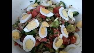 Потрясающий вкусный салат!