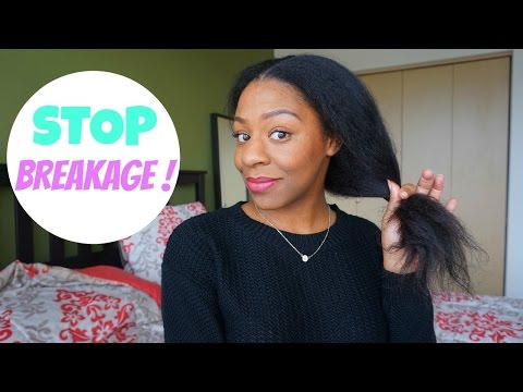 Video How To Stop Hair Breakage & Retain Length | Natural Hair