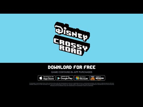 Disney Crossy Road Is Like Several Different Crossy Roads In One