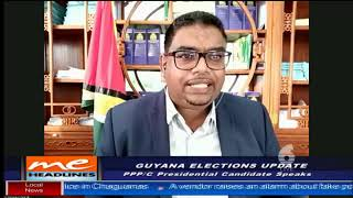 Interview with President-Elect Dr Irfaan Ali on Trinidad's CCN TV6 June 26th 2020