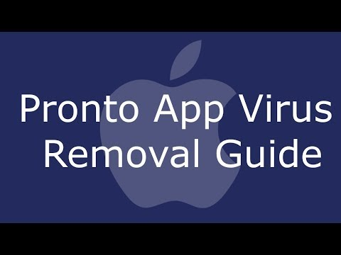Pronto App Virus Removal Guide