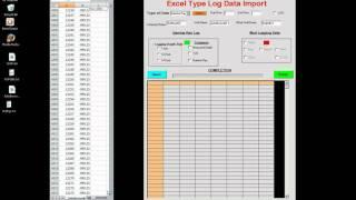 LWD & Type Log Data Import