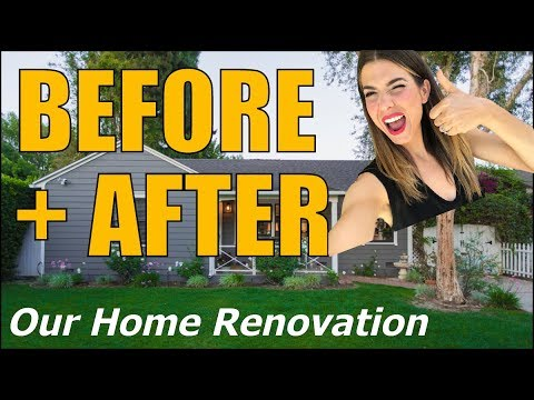 BEFORE + AFTER /// 8 Week Home Renovation!!!?