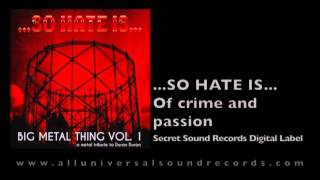...So Hate Is... - Of crime and passion (A metal tribute to Duran Duran)