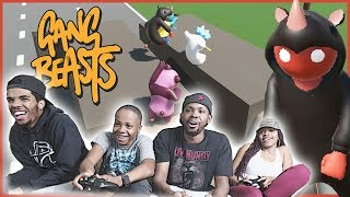 BRAND NEW CHALLENGE! JUMP FOR YOUR LIFE! - Gang Beasts Gameplay