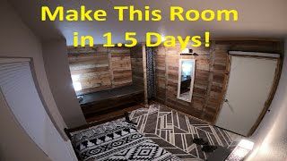 How To Build A Room In Your Garage The EASY WAY | TWG - The Watson Garage