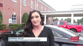Single Parent Scholarship Fund distributes scholarships in drive-thru ceremony