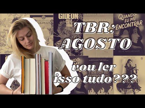 TBR: LIVROS QUE LEREI EM AGOSTO | Laura Brand