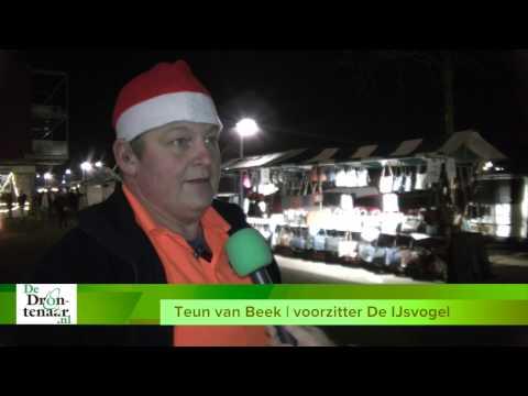VIDEO | Iets minder kraampjes maar gezellig druk en sfeervol op kerstmarkt Biddinghuizen