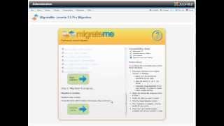 How to migrate joomla 1. 5 to joomla 2. 5 or 3 using migrate me.