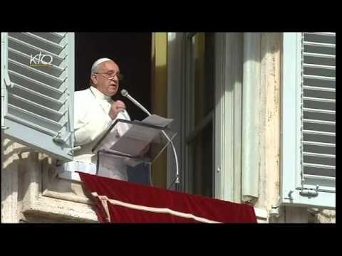 Angelus du 3 novembre 2013