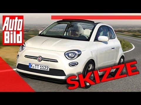 Fiat 500 E (2020): Neuvorstellung - Skizze - Motor - Elektro - Preis