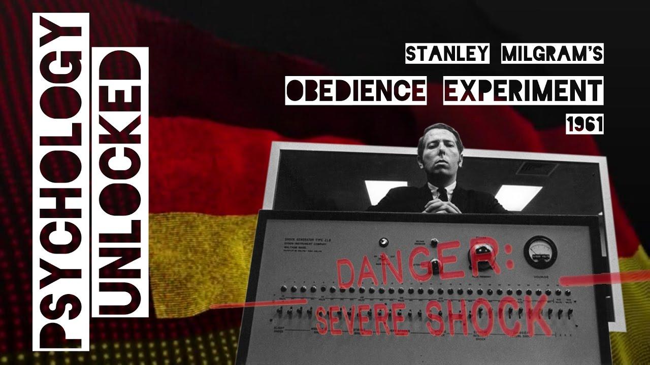 Stanley Milgram's Obedience Experiment (1961)
